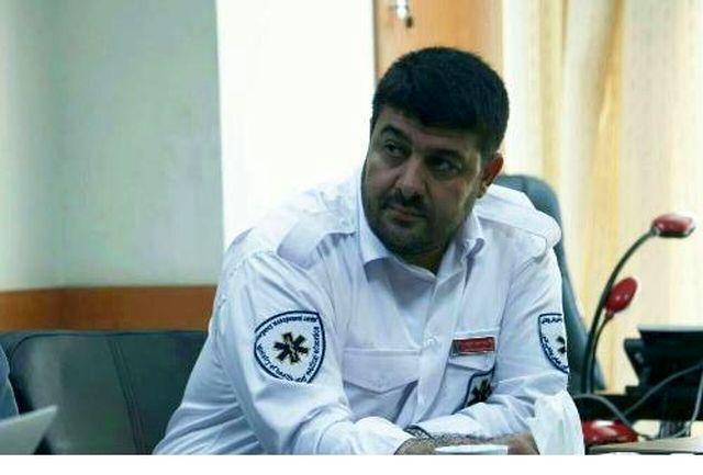 رئیس اورژانس کشو ر در مراسم افتتاح مرکز اورژانس ۱۱۵ کرمان حضور یافت