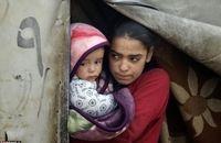 نمایش درد و رنج مردم جنگزده سوری