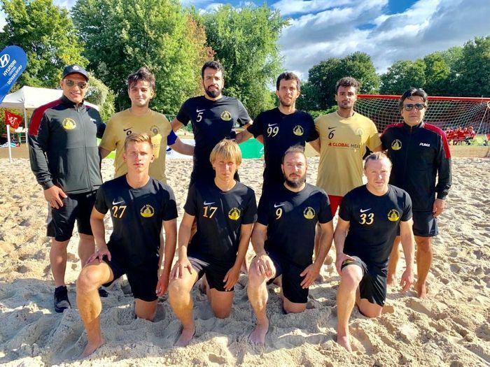 برد شیرین تیم فوتبال ساحلی رئال مونستر با مربی ایرانی