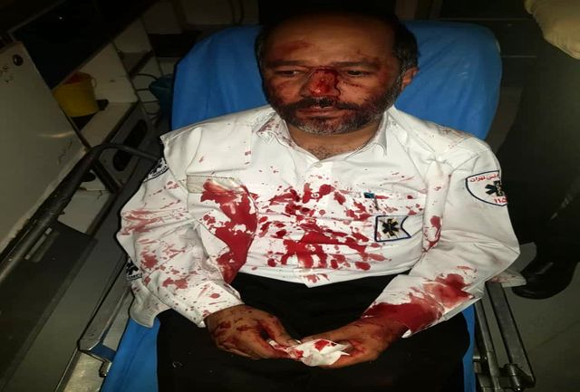 ضرب و شتم تکنسین موتورلانس اورژانس تهران هنگام ماموریت!