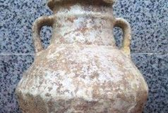 2 خمره تاریخی از دوره اشکانی حین عملیات گازکشی در دزفول کشف شد