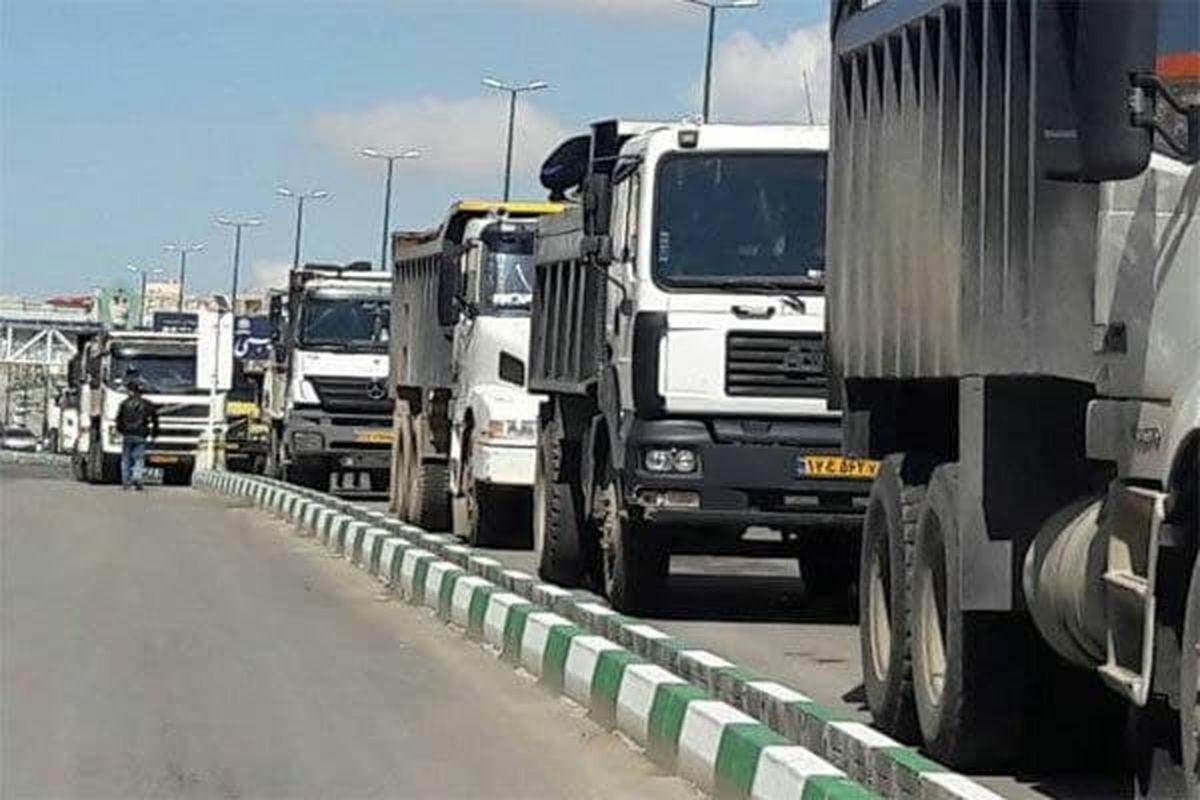 ایجاد ۸۱ فرصت شغلی جدید در بخش حمل و نقل جاده ای کالای استان آذربایجانغربی