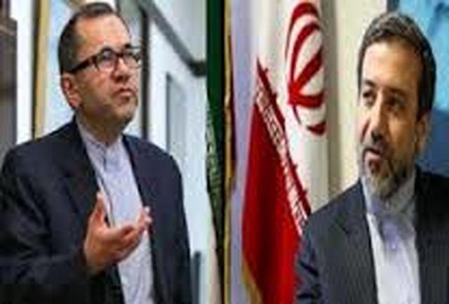 معاونان وزیران خارجه ایران و آمریکا دیدار کردند