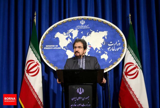 واکنش قاسمی به دعوت نشدن ایران در نشست FATF