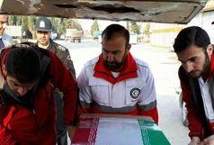 پیکرآخرین کوهنورد حادثه اشترانکوه به مشهد منتقل شد