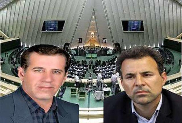 جلال میرزایی و سلام امینی نمایندگان مردم حوزه انتخابیه ایلام در مجلس دهم شدند