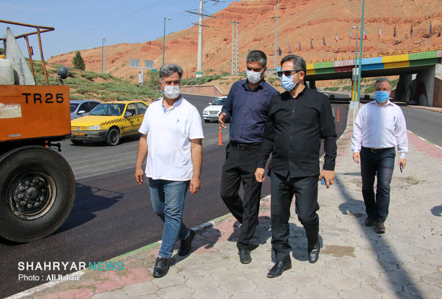 نهضت آسفالت تبریز از مرز ۲۰۰ هزار تن فراتر رفت