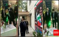 ادای احترام سلطانیفر به مقام شامخ شهدای انقلاب اسلامی