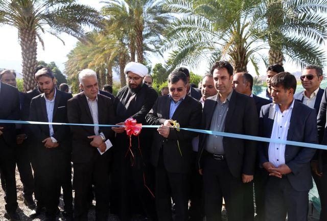 با حضور استاندار هرمزگان پروژه های عمرانی شهرستان رودان  به بهره برداری رسید