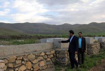 بازدید مدیر کل ورزش و جوانان استان همدان از پروژه های عمرانی شهرستان اسدآباد