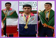 طلایی شدن سه ورزشکار خرم آبادی در بازیهای دوومیدانی پارا آسیائی جوانان  درامارات