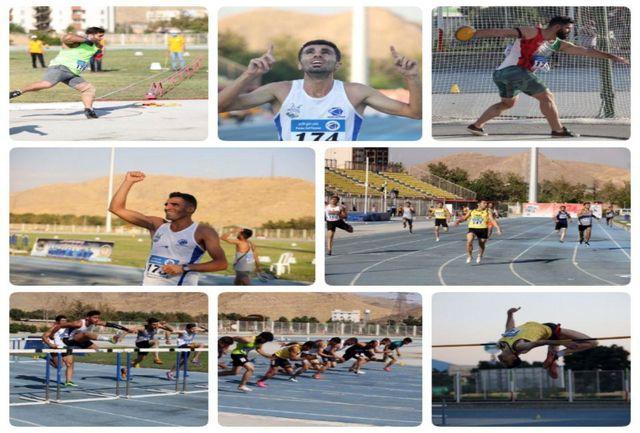 پیشتازی پلیمر خلیج فارس خرم آباد در روز نخست دوومیدانی قهرمانی باشگاههای کشور