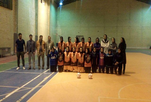 شهربابک میزبان مسابقات فوتسال بانوان لیگ دسته یک کشور