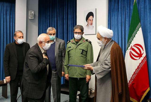 رئیس جدید ستاد بازسازی عتبات عالیات استان قزوین معرفی شد