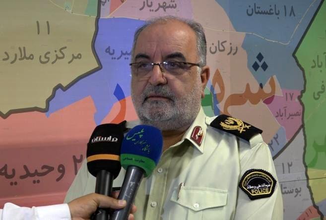 """دستگیری سارقان خودرو با60 فقره سرقت در """"ملارد"""""""
