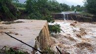 سیل در گیلان/ احتمال طغیان رودخانه شلمان؛ یک نفر مفقود شده است