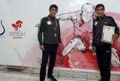 دوقلوهای چرداولی مدال طلای مسابقات دومیدانی قهرمانی کشور را به گردن آویختند