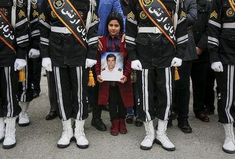 تشییع شهدای سانحه سانچی پس از نماز جمعه تهران