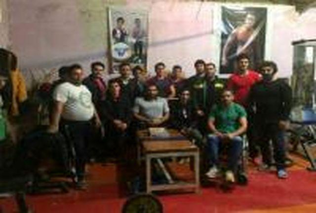 دیدار سرپرست اداره ورزش و جوانان پارس آباد با ورزشکاران جانباز و معلول