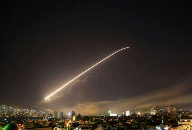 حمله موشکی رژیم صهیونیستی به اطراف فرودگاه دمشق/ پدافند هوایی واکنش نشان داد