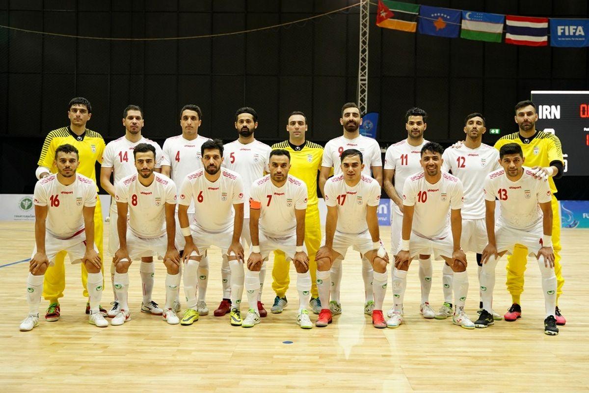 پیروزی ایران در نخستین گام