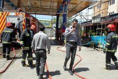 حضور آتشنشانان شهرداری قزوین در 7عملیات طی 48ساعت گذشته