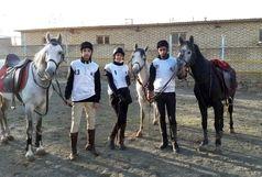 عملکرد سوارکاران آذربایجانغربی در مسابقات استقامت کشور در نایسر سنندج