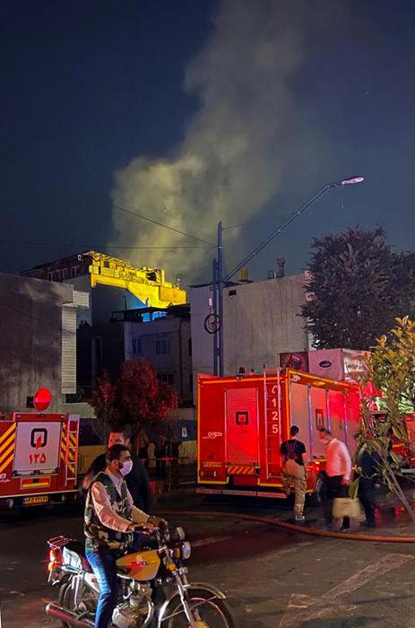 آخرین جزئیات از آتش سوزی کلینیک سینا اطهر؛عملیات اطفا حریق اطفا پایان رسید+فیلم