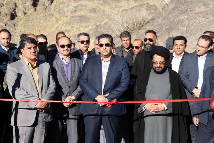 نهمین سیلبند شرقی شهر کرمان افتتاح شد