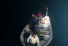 4صیاد گمشده در دریای عمان نجات یافتند