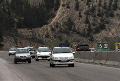 ترافیک نیمهسنگین در محور هراز و فیروزکوه