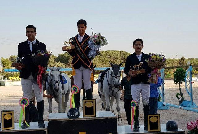 مقام سوم مسابقات سوارکاری ردههای سنی قهرمانی کشور به ورزشکار آذربایجان غربی رسید