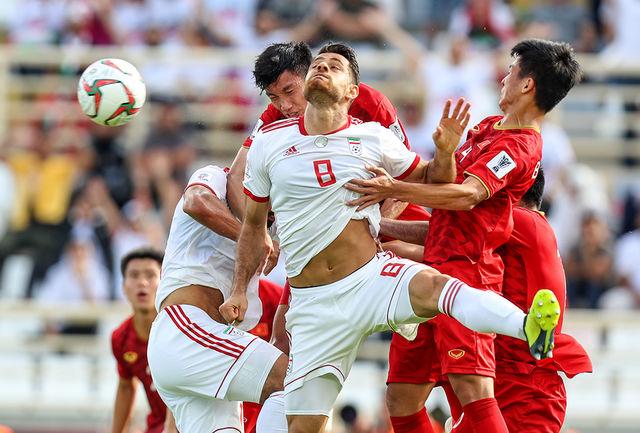 پورعلی گنجی: امیدوارم بعد از شکست دادن عراق، به تیم بهتری در دور بعد بخوریم