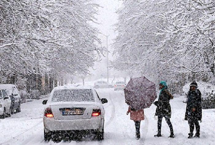 برف غرب کشور را درنوردید