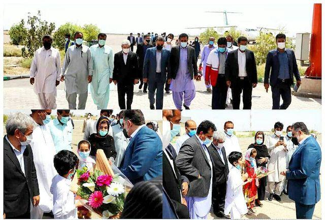 معاون امور جوانان به سیستان و بلوچستان سفر کرد