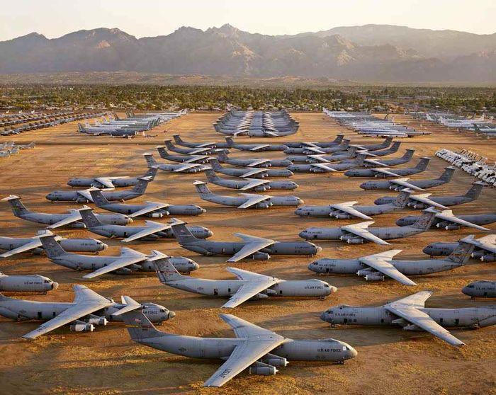 بزرگترین قبرستان هواپیما در جهان+ فیلم