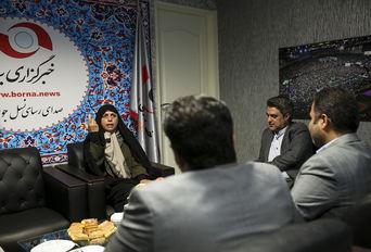 حضور فرهادیزاد، «معاون توسعه ورزش بانوان وزارت ورزش» در خبرگزاری برنا