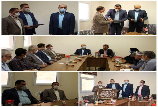 مراسم تودیع و معارفه رئیس اداره فرهنگ و ارشاد اسلامی شهرستان قدس