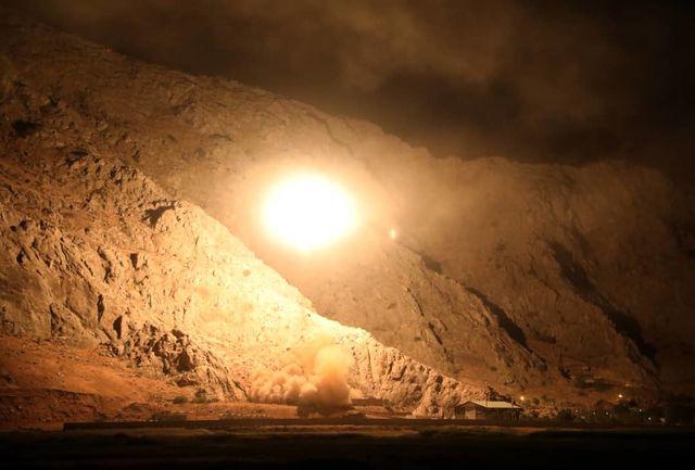 نخستین تصاویر گوشمالی سخت سپاه پاسداران به تروریست ها/ ببینید