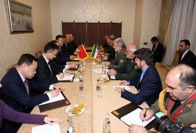 حمایت قاطع چین از مواضع ایران در حفظ صلح و ثبات منطقه