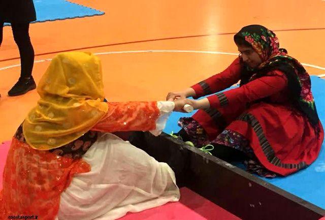 کسب مقام دوم رشته چوب کشی سنتی بانوان سیستان و بلوچستان در مسابقات کشوری
