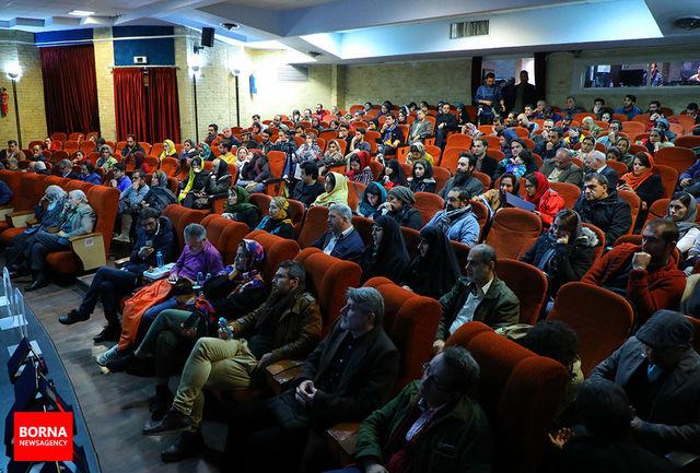 بزرگداشت بهرام محمدی فرد در اختتامیه جشنواره دوربین.نت