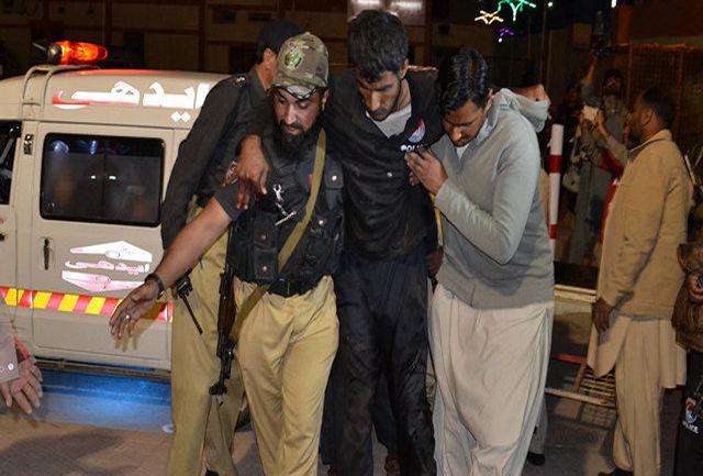 ۱۳ کشته در حمله انتحاری به یک کمپین انتخاباتی در پاکستان