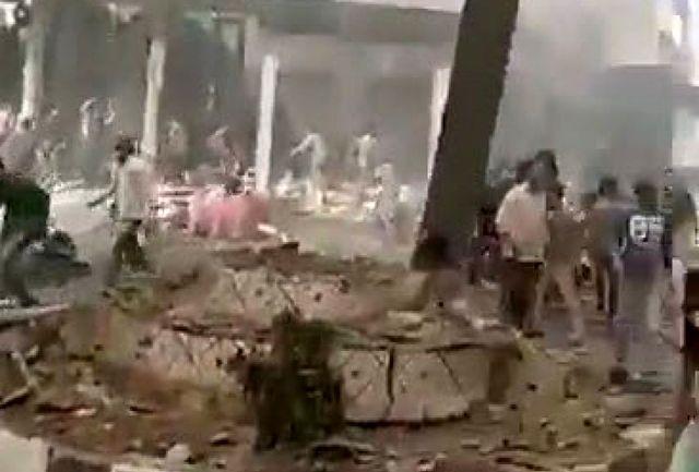انفجار بمب در یک شهرک صهیونیست نشین