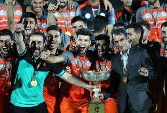 دیدار تیم های فوتبال سایپا- شاهین بوشهر ( فینال جام شهدا )
