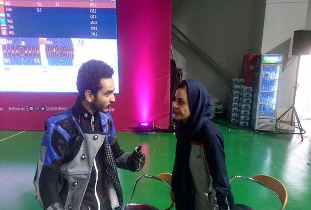 نخستین مرد ایرانی تیراندازی سهمیه المپیک گرفت