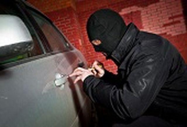 اعتراف سارق به 40 فقره سرقت قطعات و داخل خودرو در قم