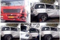 علت اصلی  تصادف خودروی مدیرعامل سازمان تامین اجتماعی مشخص شد