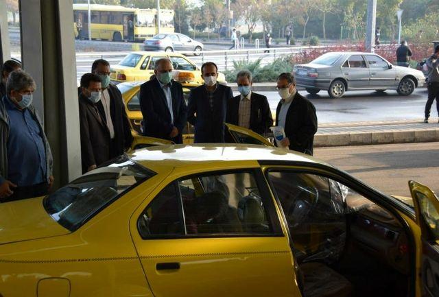 تجهیز هزار دستگاه تاکسی خطی به کاور محافظ