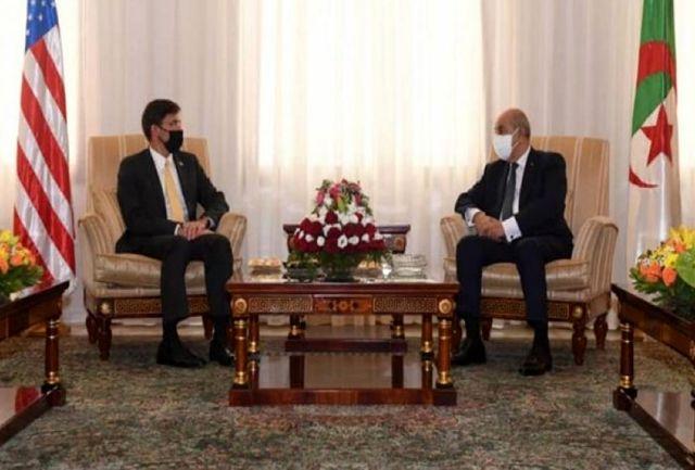 وزیر دفاع آمریکا با رئیسجمهور الجزائر دیدار کرد